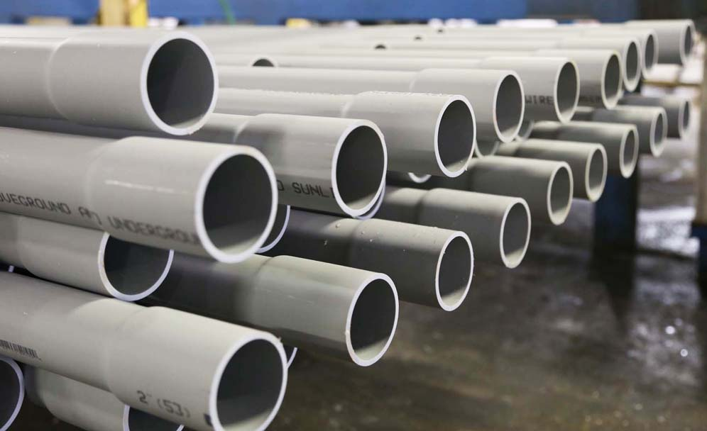 CANTEX PVC PIPE IN THE NEWS