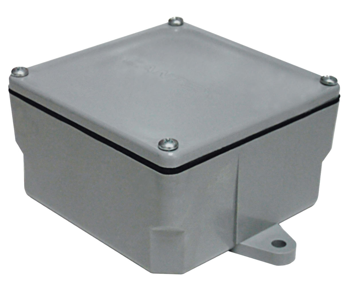 Electrical j boxes enclosures gutter non metallic