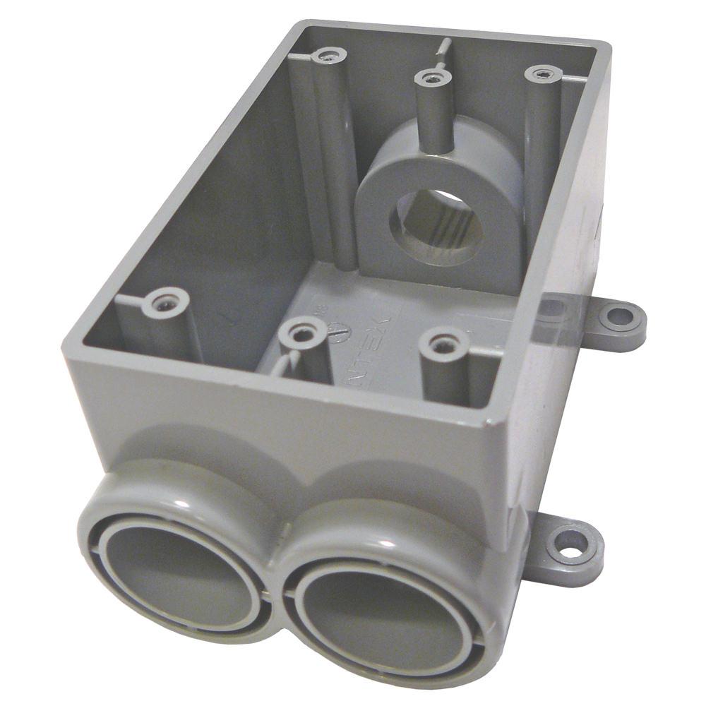 Cantex 5133545 CTX 3/4 1G PVC FSCC BOX