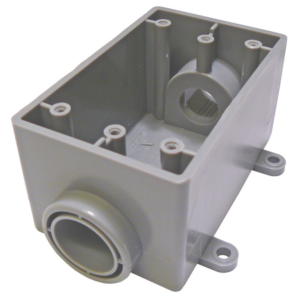 Cantex 5133463 CTX 1/2 1G PVC FSC BOX